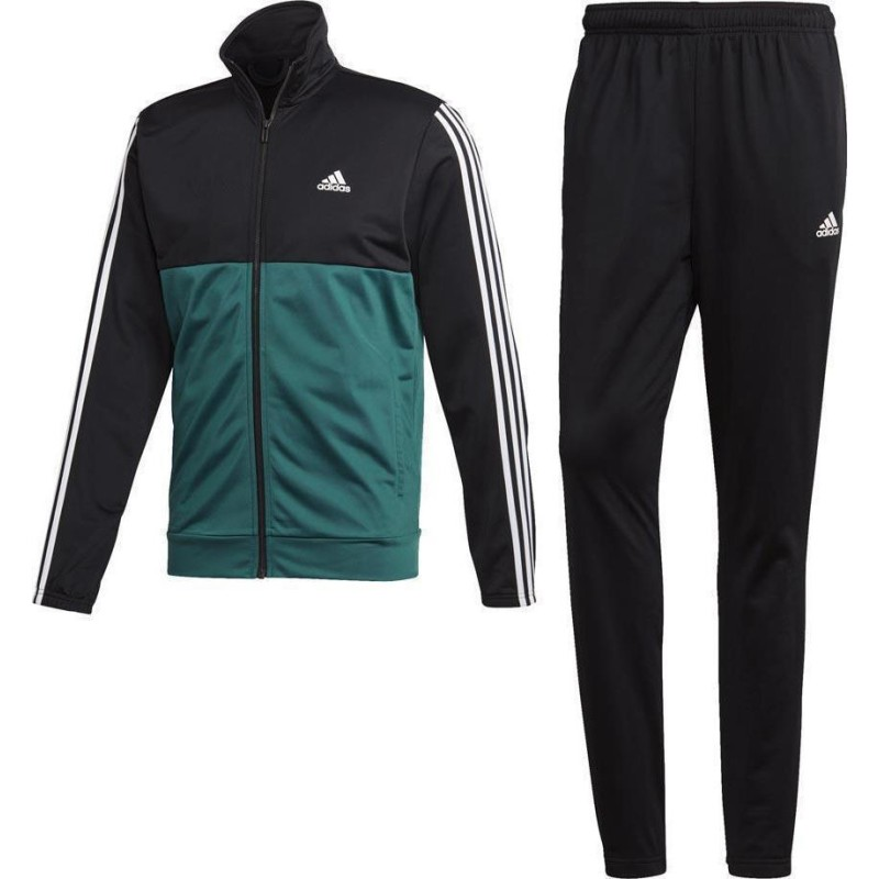 beauty new design wide varieties Adidas Tracksuit green and black CY2303