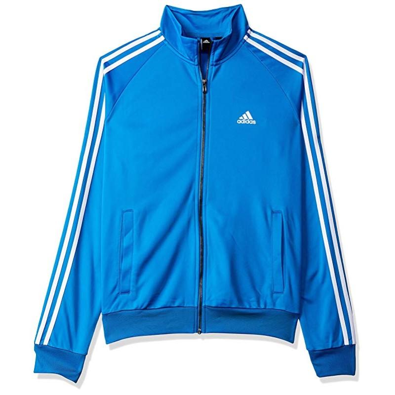 adidas white and blue jacket